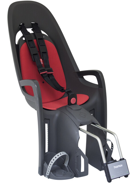 Hamax Zenith Kindersitz grau/rot